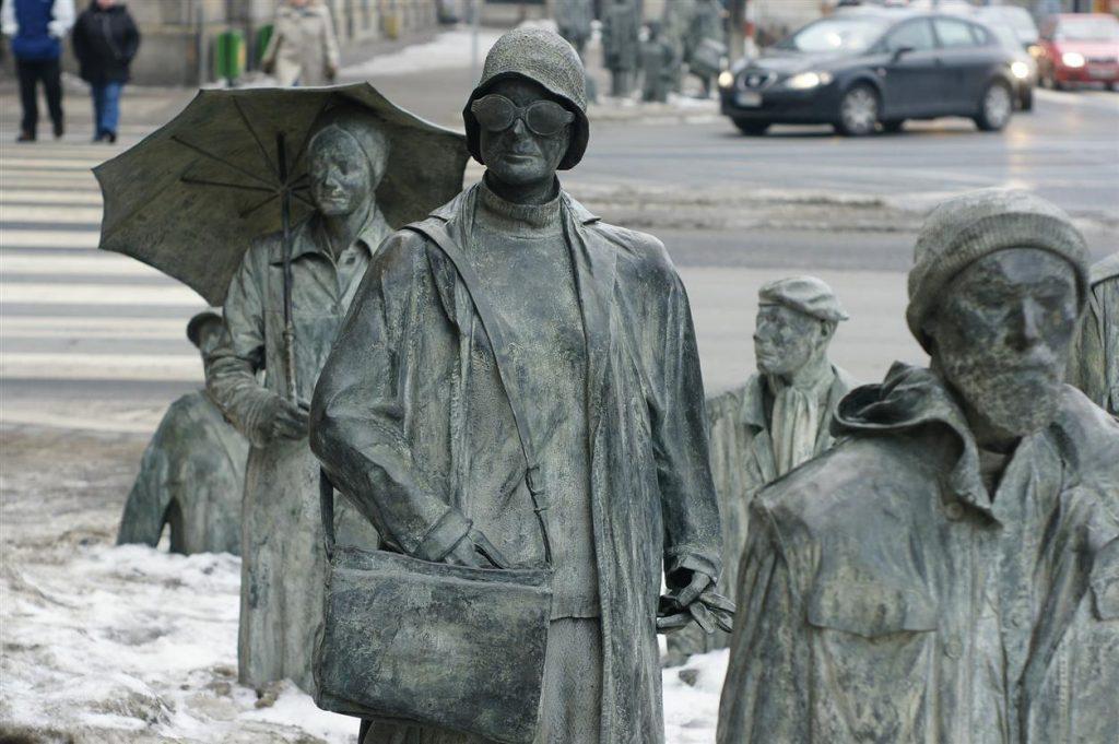 Wrocław: Pomnik Anonimowego Przechodnia