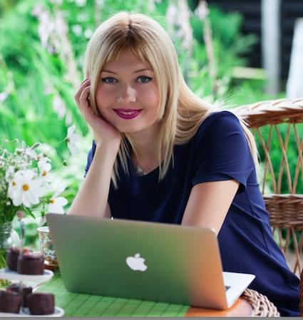 """Natalia Sherba, autorka cyklu """"Czasodzieje"""". Archiwum prywatne"""